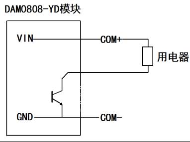 有源开关量接线示意图       rs485级联接线方式 http://www.
