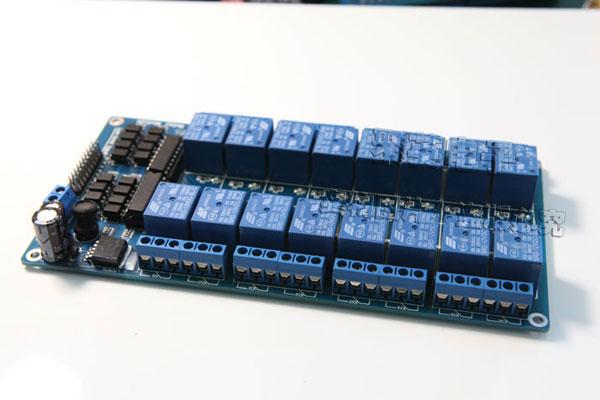 聚英电子 16路继电器控制板,控