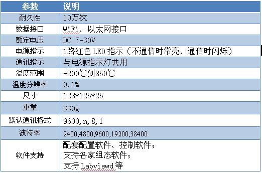 8路pt100温度采集模块 dam-pt08(网络版)